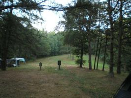 Outer edge of camping by steward