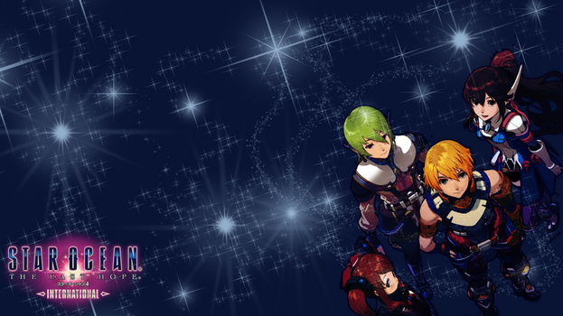 PS3 Wall-Star Ocean 4 by worldstraveller