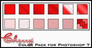 Cherry Color Pack by redbonniekidd