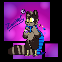 ZANDER CATSPROUT (APPROVED) by DarkDrawingle