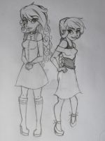 TEOI- Loki and Melissa~ Young Mom designs? by SnowyMarriner