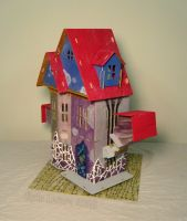 Undersized Urbanite - Surrealism Dollhouse 2 by Kyle-Lefort