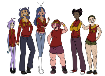 Roar Omega Roar... Sorority? by R2ninjaturtle