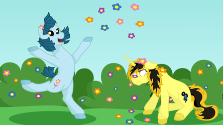 Stop and Smell the Flowers Contest Entry by pretty-pegasus-wings