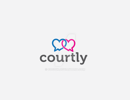 Courtly Logo by COGOW