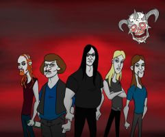 Dethklok by hugbees