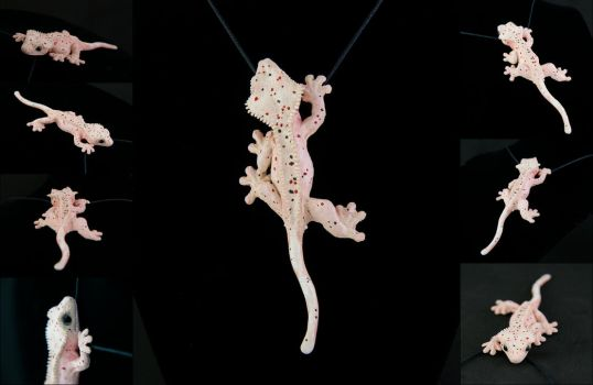 Dal Crested Gecko Necklace By Illusiontree On Deviantart