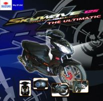 suzuki skywave 125 by taramultimedia
