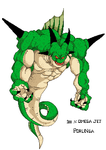 Porunga The Namekian Dragon by OmegaJet