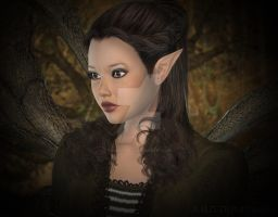 A Portrait of a Fae by CaperGirl42