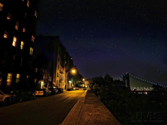 Starry Night in the Heights by steeber