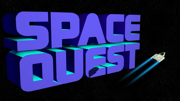 Space Quest 2 1440p (Ship/Shadow/Trails) by MusicallyInspired