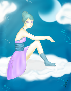 Living in the clouds - Aysth by PT-anime