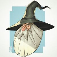 Gandalf the Grey by CamaraSketch