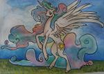 Celestia's sunny days by QueenAnneka