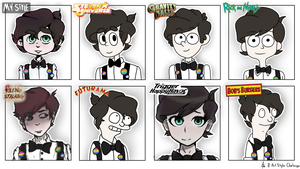 8 Art Style Challenge (Speedpaint In description) by YamahaPianoIDK