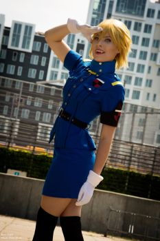 I salute you by Rinaca-Cosplay