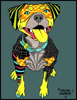 El Perro Poster by Rustypanther
