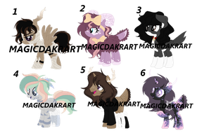 Pony Pixel Pack Adoption *closed* by MagicDarkArt