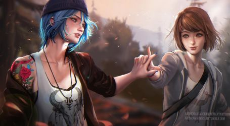 Life is strange .Together. by sakimichan