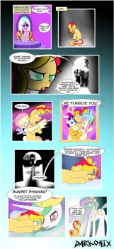 Equestria Girls Alternate Ending by Darkonix