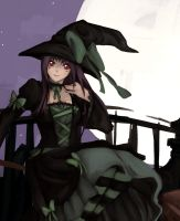 Commision- Witch girl by T3hb33