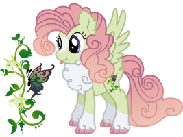Ponysa: Amber Orchid by Saukapie