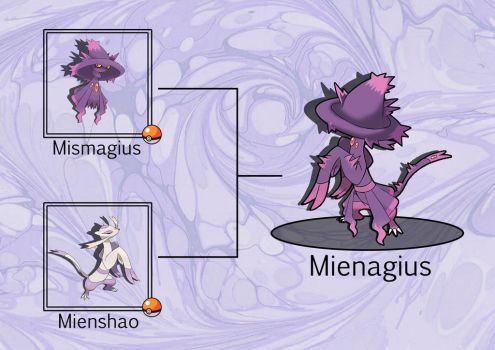 Pokefusion: Mienagius by JT-PokeKa