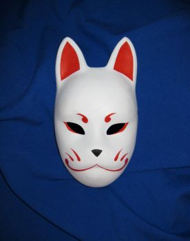 Kitsune mask by Mishutka