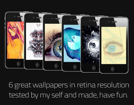 iphone 4 Wallpapers by Kr4mon