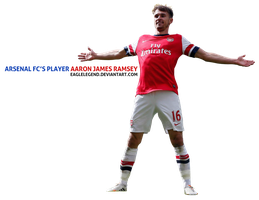 Arenal FC Player Aaron Ramsey Render by eaglelegend