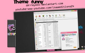 Tema Funny Winrar Isaeditions24 by Reyess