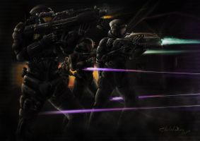 Purple Battle 69 by HorcikDesigns