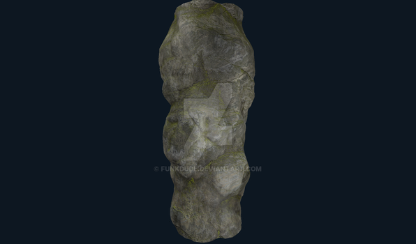 WIP Cliff substance with tesselation applied. by Funkdude