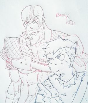 Father and son [ God of War ] by breakkid2