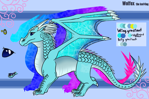 Wolfox the IceWing 2017 Ref by WolfiiWiingz
