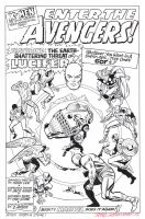 X-MEN #9 Title Splash RECREATION Hazlewood SOLD by DRHazlewood