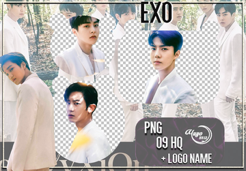 EXO_PNG #16 { The ElyXiOn } by YUYO8812