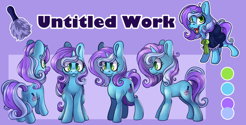 [Commission] Untitled Work Ref Sheet by CutePencilCase