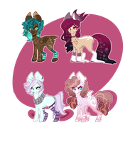 [ADOPTS] _ Quad adopts 3/4 by HoloRiot