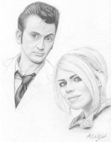 The Doctor and Rose by Lyvyan