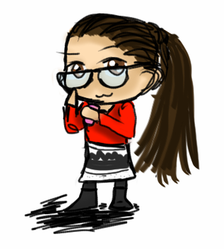 Cosima Niehaus in Chibi form by SmileWhenDead