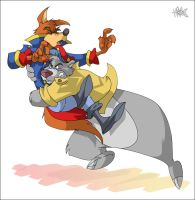Talespin Commission by ElectricDawgy