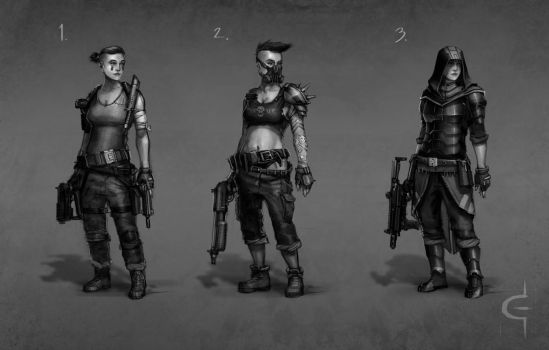 Ladies of the Apocalypse by Earl-Graey