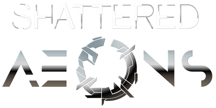Fun With Typography: Shattered Aeons by Bjornieman