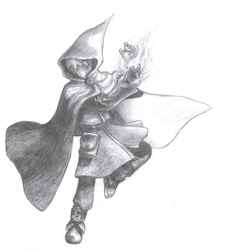 Generic mage by Silethas
