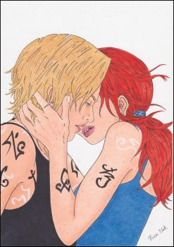 Jace and Clary - A Place Called Home by MinaBlak