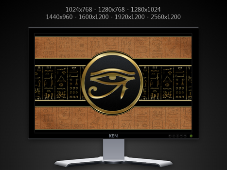 Eye of Ra Pack by KenSaunders