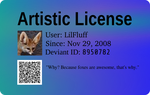 Artistic License V2 by LilFluff