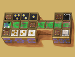 Board for the Game of Ur by PeKj